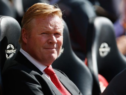 Ronald Koeman has plenty of work to do at Southampton