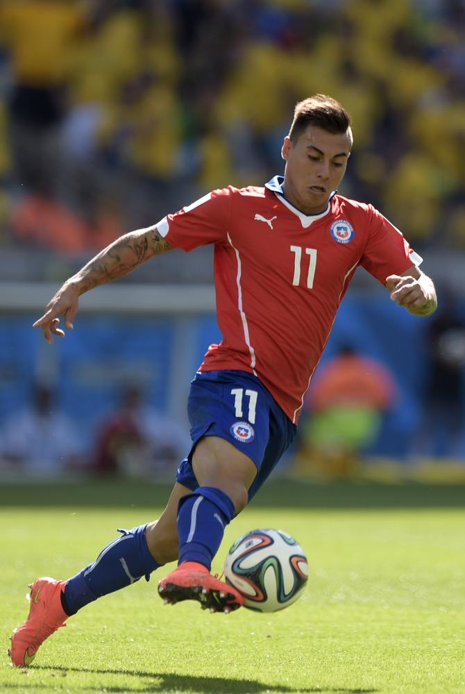 Eduardo Vargas set to seal Arsenal loan transfer 'within days'
