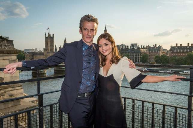 Doctor Who starring Peter Capaldi and Jenna Coleman
