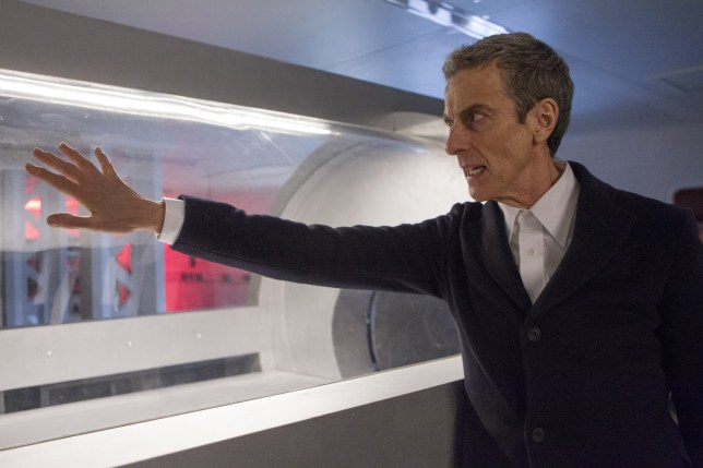Doctor Who series 8: Peter Capaldi as The Doctor in Into The Dalek