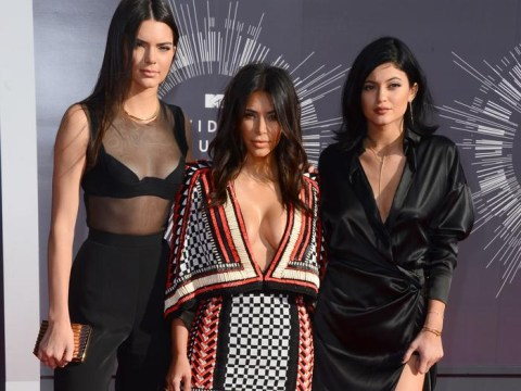 2014 VMAs: Kim ensures she's the most talked-about Kardashian with ridiculously low-cut dress