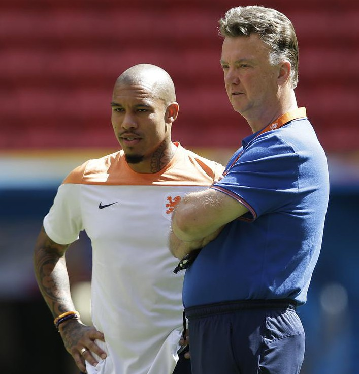 Manchester United line up £8m move for former City midfielder Nigel de Jong