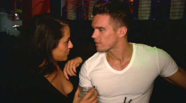 Geordie Shore Marnie and Gaz (Picture: MTV)