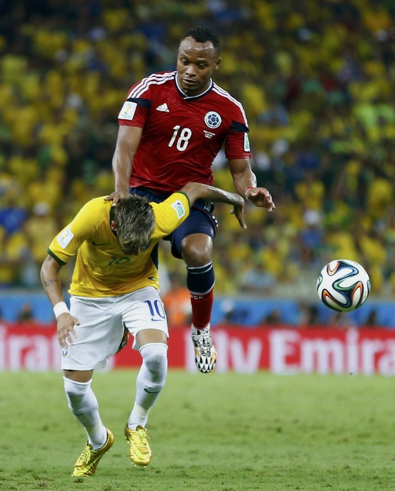 Neymar nominates World Cup nemesis Juan Zuniga plus One Direction's Niall Horan for ice bucket challenge