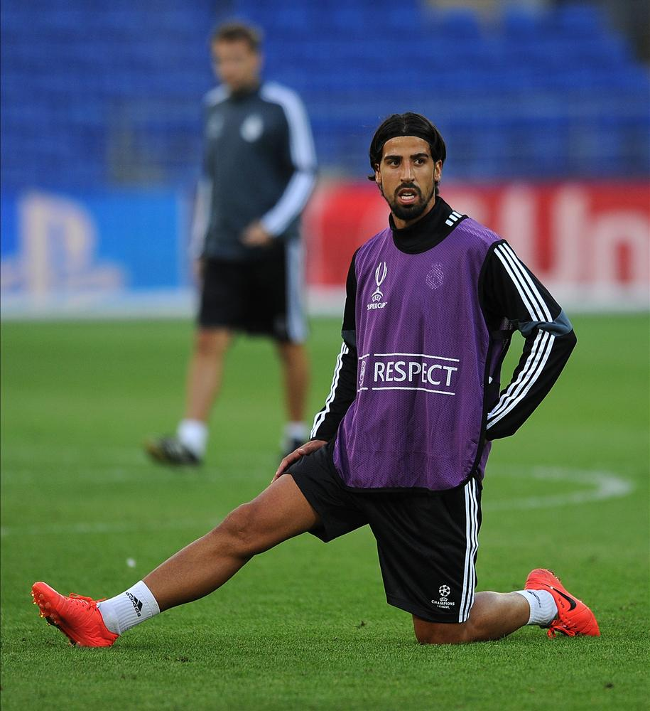 Arsenal target Sami Khedira yet to hand in transfer request, but Carlo Ancelotti refuses to rule out exit