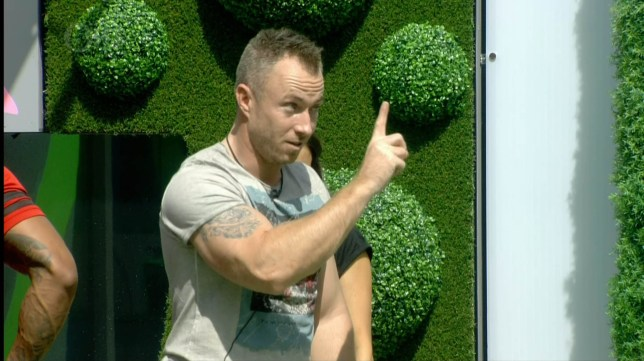 Celebrity Big Brother James Jordan