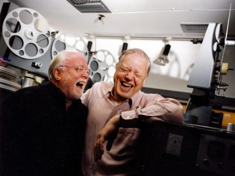 Actor Richard Attenborough dies aged 90 – A life in pictures