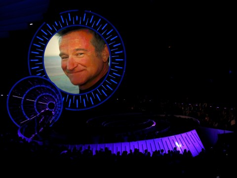 Here's how the VMA Awards paid tribute to Robin Williams. For about twenty seconds