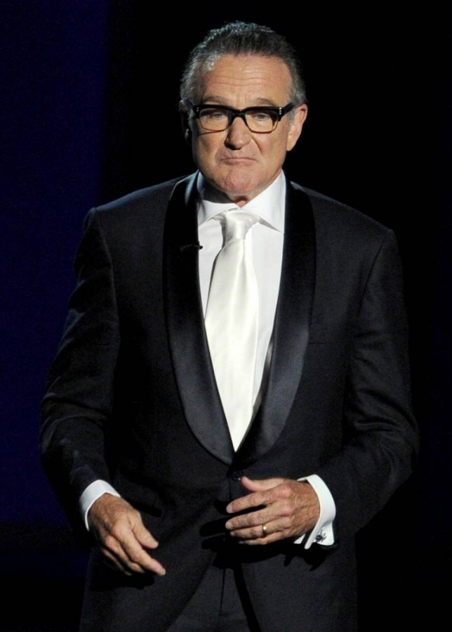 Actor Robin Williams speaks onstage during the 65th Annual Primetime Emmy Awards held at Nokia Theatre L.A. Live on September 22, 2013 in Los Angeles, California.     LOS ANGELES, CA - SEPTEMBER 22:  (Photo by Kevin Winter/Getty Images)