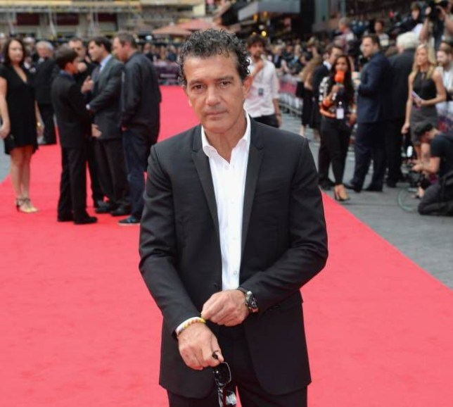 """LONDON, ENGLAND - AUGUST 04: Antonio Banderas attends """"The Expendables 3"""" World Premiere at the Odeon Leicester Square on August 4, 2014 in London, England. The Expendables 3 is released on August 14, 2014. (Photo by Dave J Hogan/Getty Images for Lionsgate)"""