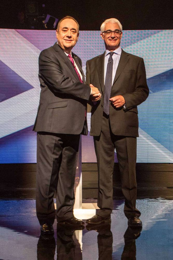 Alex Salmond and Alistair Darling clash in Scottish independence debate: What you need to know