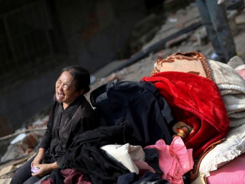 Earthquake in China leaves at least 589 dead with dozens more still buried under debris