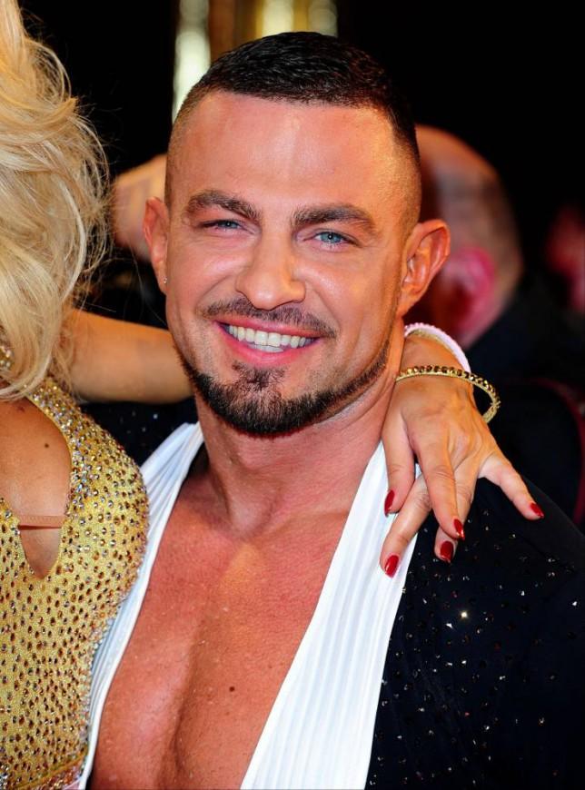 Robin Windsor's back on Strictly for same sex dance with Aljaz Skorjanec