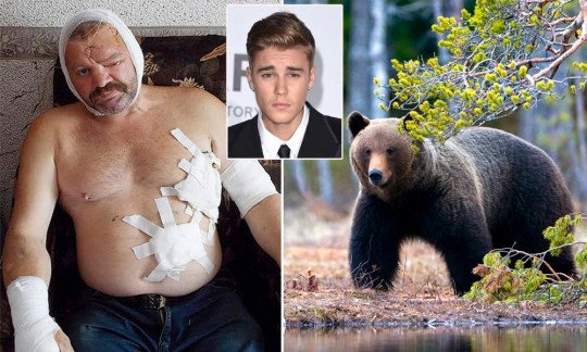 Russian fisherman saved from bear attack by Justin Bieber ringtone