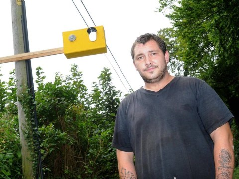 Man installs fake speed camera outside home after his cat is killed by car