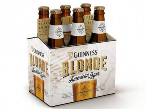 Guinness launches a blonde beer and it will be made in the US