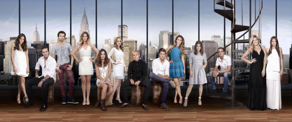 Made in Chelsea NYC - Binky, Spencer, Mark, Fran, Lucy, Rosie, Jamie, Stevie, Victoria, Louise, Oliver, Cheska and Riley