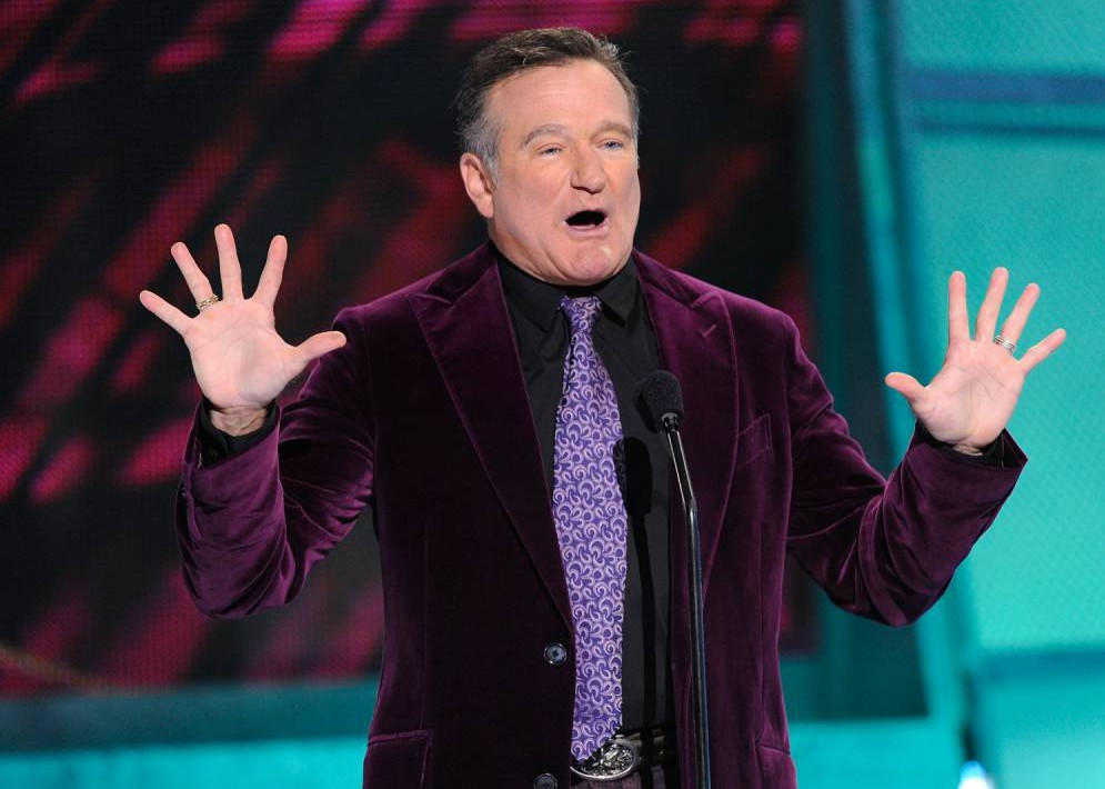 FILE  AUGUST 11:  According to reports August 11, 2014 actor Robin Williams has died of a suspected suicide in Tiburon, California.  He was 63. LOS ANGELES, CA - JANUARY 07:  Presenter Robin Williams speaks during the 35th Annual People's Choice Awards held at the Shrine Auditorium on January 7, 2009 in Los Angeles, California.  (Photo by Kevork Djansezian/Getty Images for PCA)