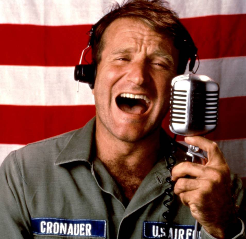 Good Morning, Vietnam, Robin Williams