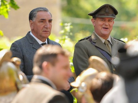 Downton Abbey behind the scenes – season five in pictures