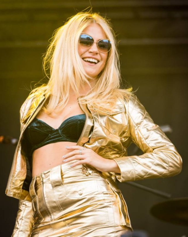 Mandatory Credit: Photo by REX (4078309ar)  Pixie Lott  V Festival, Hylands Park, Chelmsford, Essex, Britain - 16 Aug 2014