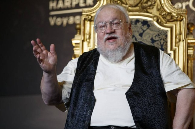Game Of Thrones author George RR Martin and Robin Hobb in
