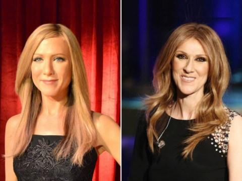 Jennifer Aniston's waxwork looks suspiciously like Celine Dion…