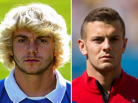 Portsmouth defender Jack Whatmough is definitely Arsenal's Jack Wilshere in a wig