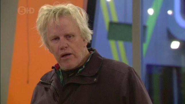 Gary Busey Celebrity Big Brother 2014 (Picture: Channel 5)