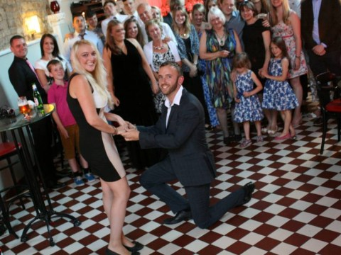 Can we please all stop with these ridiculous over the top marriage proposals?