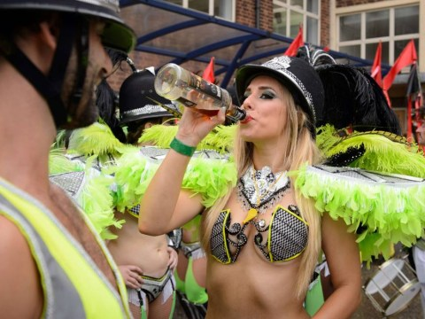 Notting Hill Carnival 2014: The rain doesn't dampen the crowd on bank holiday Monday