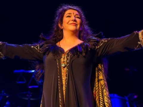Heathcliff, it's me: Kate Bush returns to Hammersmith Apollo stage after 35-year absence