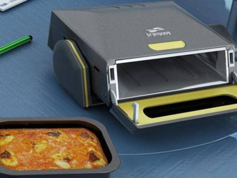 Nope, this isn't a printer, it's a magical new desk microwave that will change your life