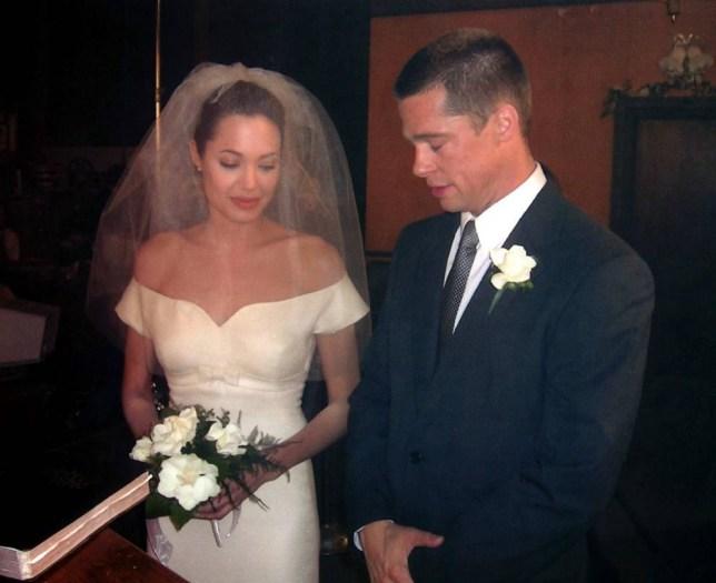 Brad Pitt and Angelina Jolie Mr & Mrs Smith
