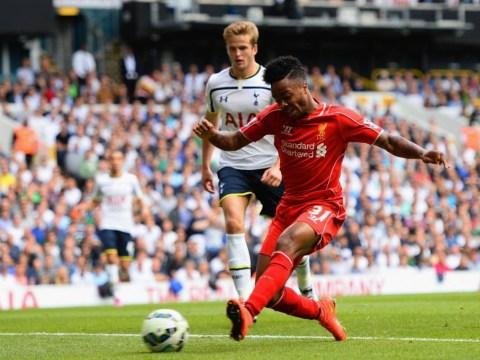 Raheem Sterling runs through Tottenham defence like Lionel Messi, finishes like Nicklas Bendtner