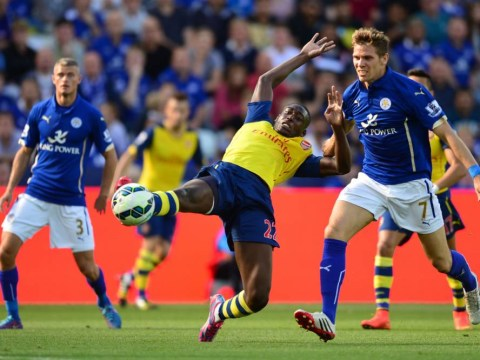 Yaya Sanogo slated as Arsenal held to frustrating draw at Leicester City