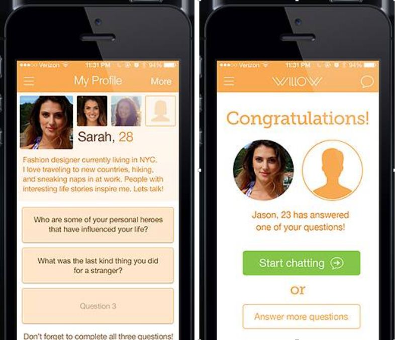 This dating app which encourages users to swap banter before sharing photos is our new favourite