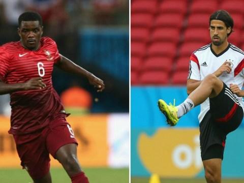 Arsenal to push for William Carvalho and Sami Khedira after Mikel Arteta injury blow