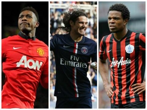 Danny Welbeck, Edinson Cavani and Loic Remy back on Arsenal transfer hit-list following Olivier Giroud injury blow