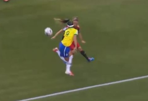 Brazilian star Byanca shows incredible skill at women's Under20 World Cup against Germany