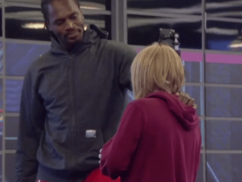 Celebrity Big Brother 2014: Audley Harrison tries to patch things up with Kellie Maloney 'man-to-man'