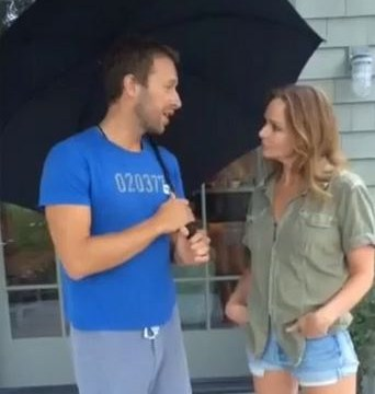 Chris Martin and Stella McCartney team up to accept Gwyneth Paltrow's ice bucket challenge