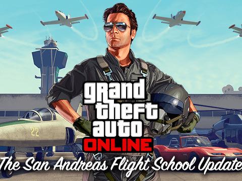 San Andreas Flight School is live now for GTA Online