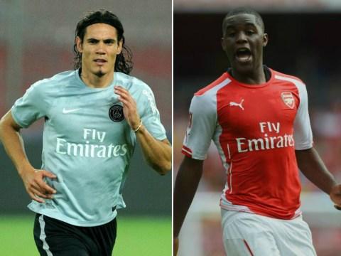 Arsenal push for Edinson Cavani transfer as they prepare to sell Joel Campbell