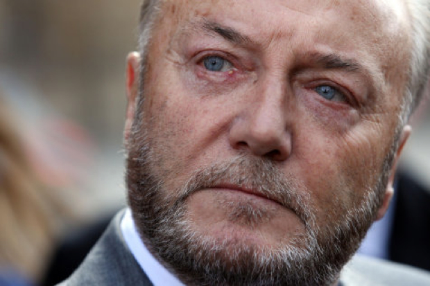 George Galloway is standing for London Mayor, because of course he is