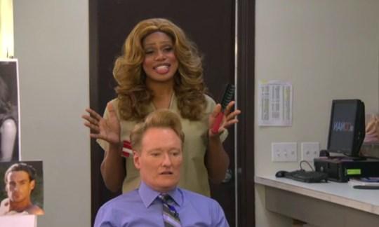 Laverne Cox on the Conan O'Brien Show