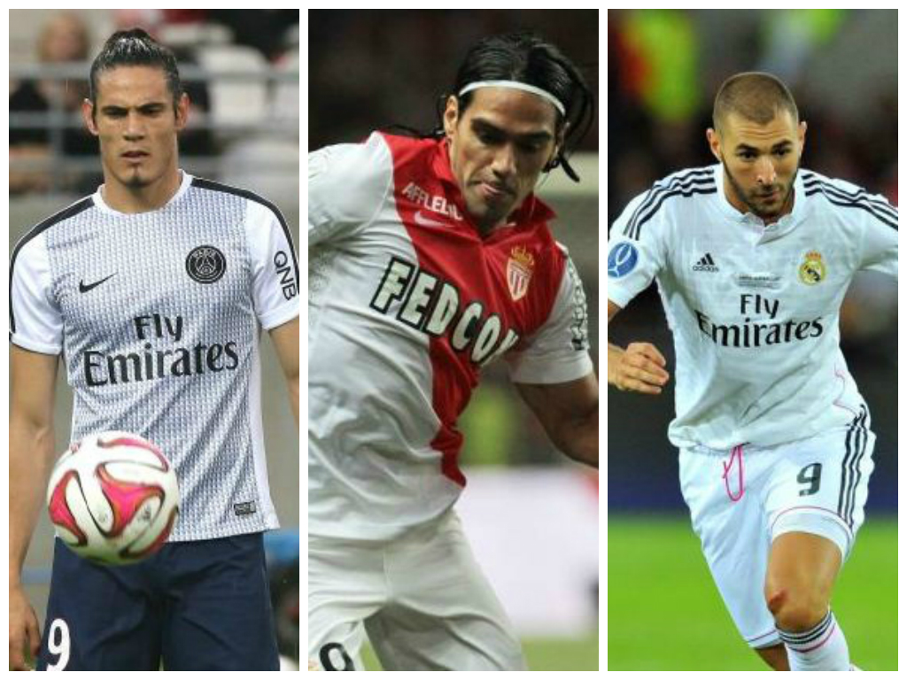 Liverpool told 'no chance' of Edinson Cavani, Radamel Falcao or Karim Benzema transfers