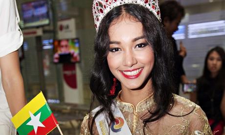 'Rude and dishonest' Burmese beauty queen 'vanishes with £60,000 tiara'