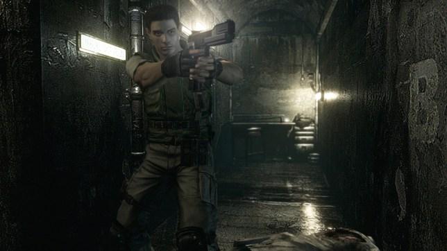 Resident Evil - the original non-Hulk version of Chris Redfield