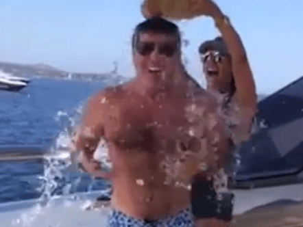 10 of the best celebrity ice bucket challenges